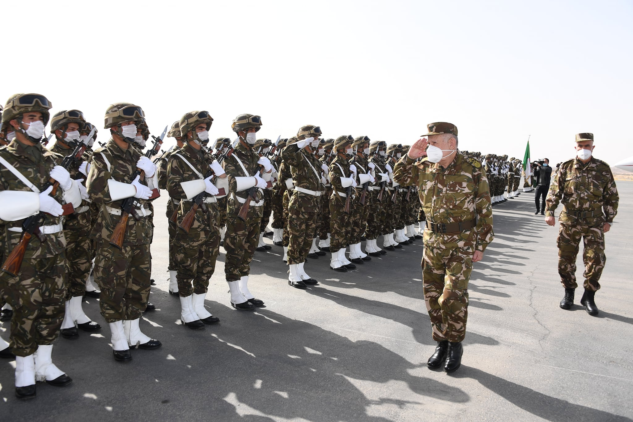 الفريق شنقريحة في زيارة الى الناحية العسكرية السادسة بتمنراست